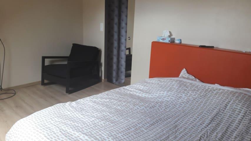 Chambre lit double king size ou 2 lits simples