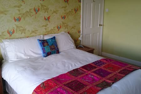 Light & airy room overlooking the Ribble Valley