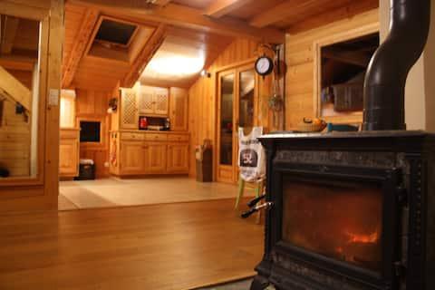 Appartement type chalet montagnard cosy