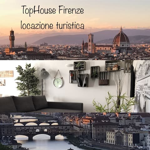 Top House & Garage. Firenze by G. - Florencja - Apartament