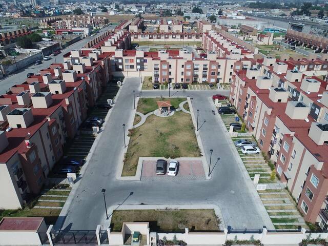 Nuevos departamentos en privada en Texcoco