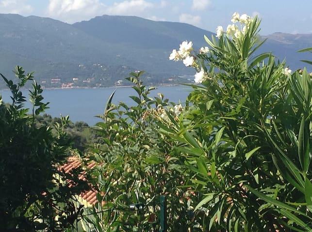 Corsica panoramic seaview studio