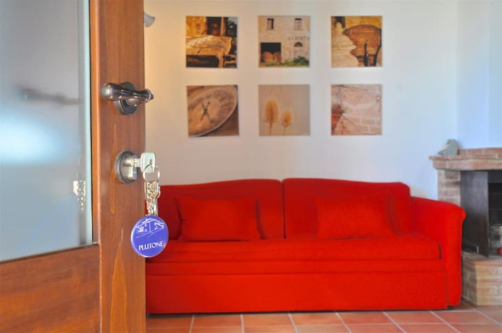 Agriturismo Borgo Solario 5 pax. - Castiglione del Lago - Apartamento