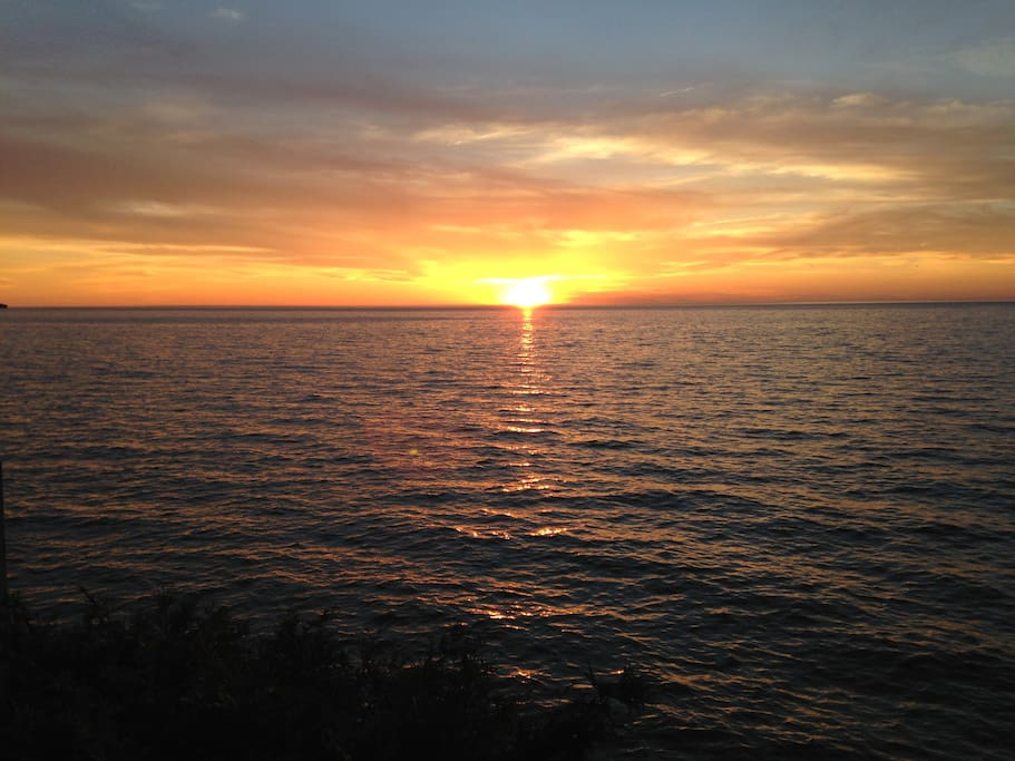 Famous Lake Ontario Sunsets from porch or front yard!