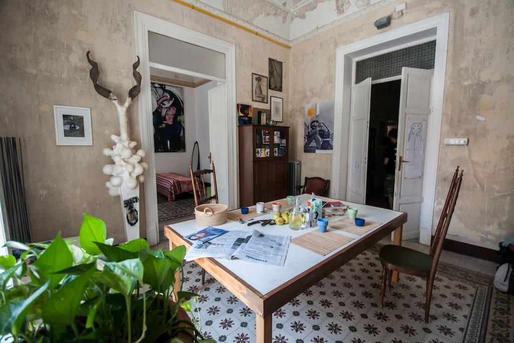 Co housing re federico 23 appartamenti in affitto a for Appartamenti arredati in affitto a palermo