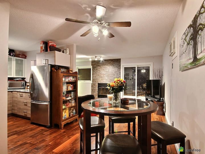 Chez Nous @YWG 2 level condo close to downtown