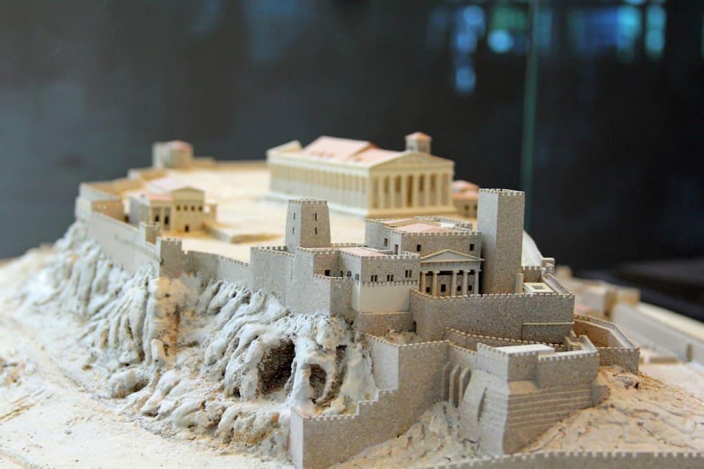 ... model of Ancient Acropolis :)