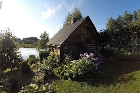 Beautiful wooden sauna house - Maaritsa