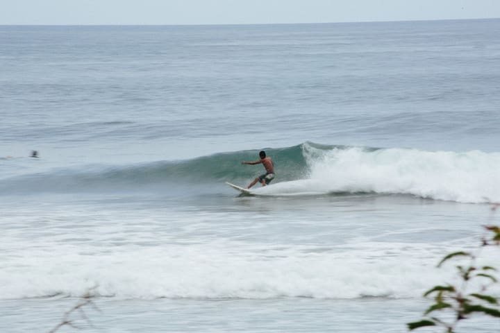 Surfing beach is just a little ways away on such a beautiful beach