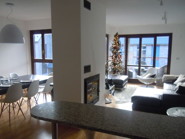 Modern luminous duplex with wifi - Panticosa - Apartment