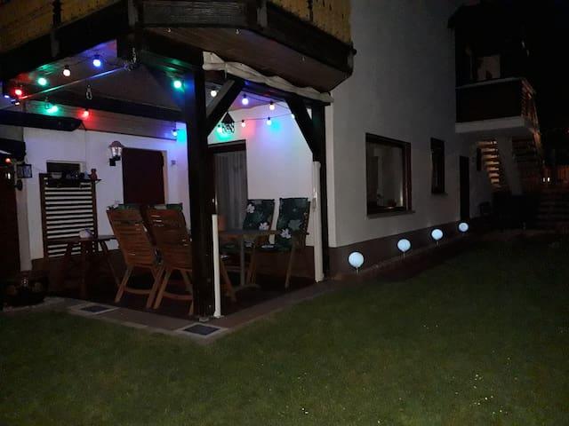 Terrase - am Abend
