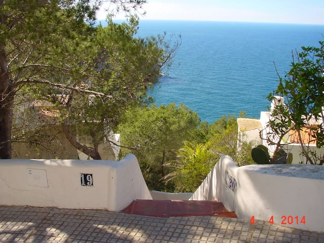 Villa with beautiful view in Isla Blanca IBIZA - Sant Miquel de Balansat