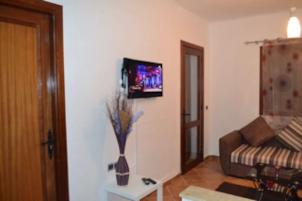 Salon équipé d'une Télévision;numérique