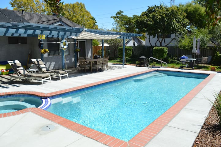 Napa Valley Family Friendly w/Pool - American Canyon - Hus