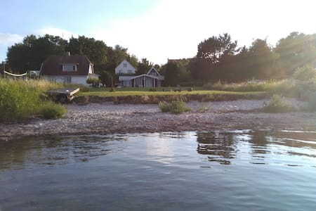 Rent house with own beach - Ebberup