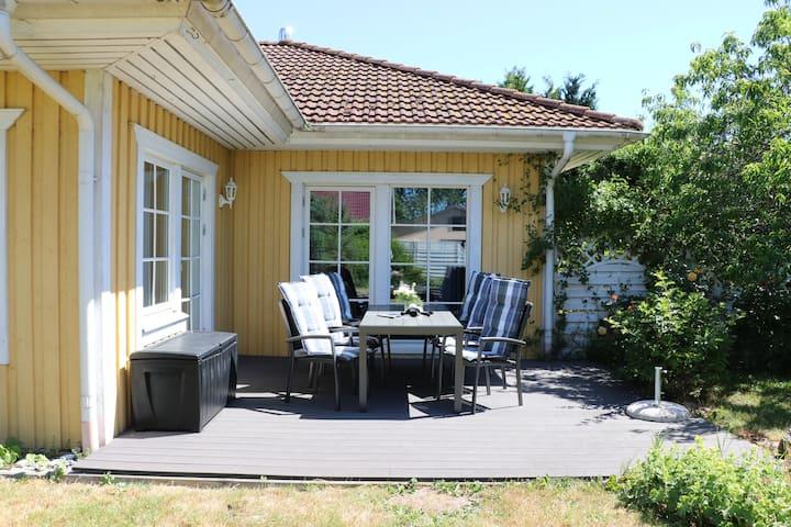 Schwedenhaus, direkt am Bodden, ruhige Lage