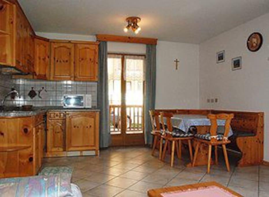 Appartamento tipo 1 con 2 camere da letto e un bagno (mq 65)