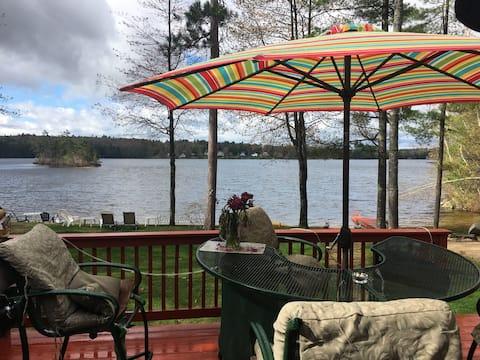 Chase Cottage on Sunrise Lake - Lakefront
