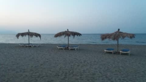 mini beachfront villa
