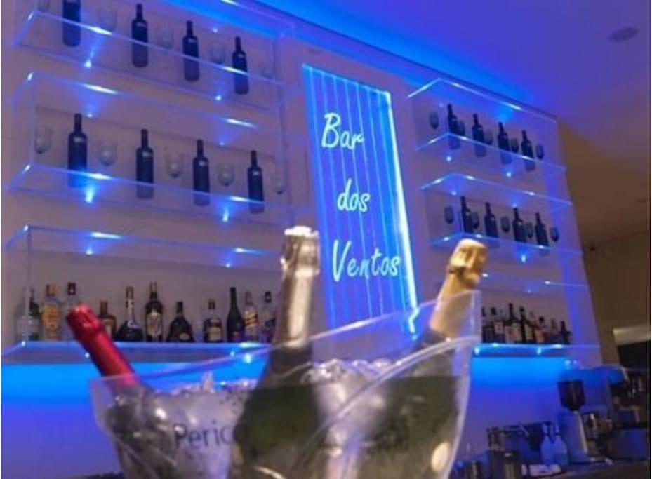 Bar no Hotel Cristal