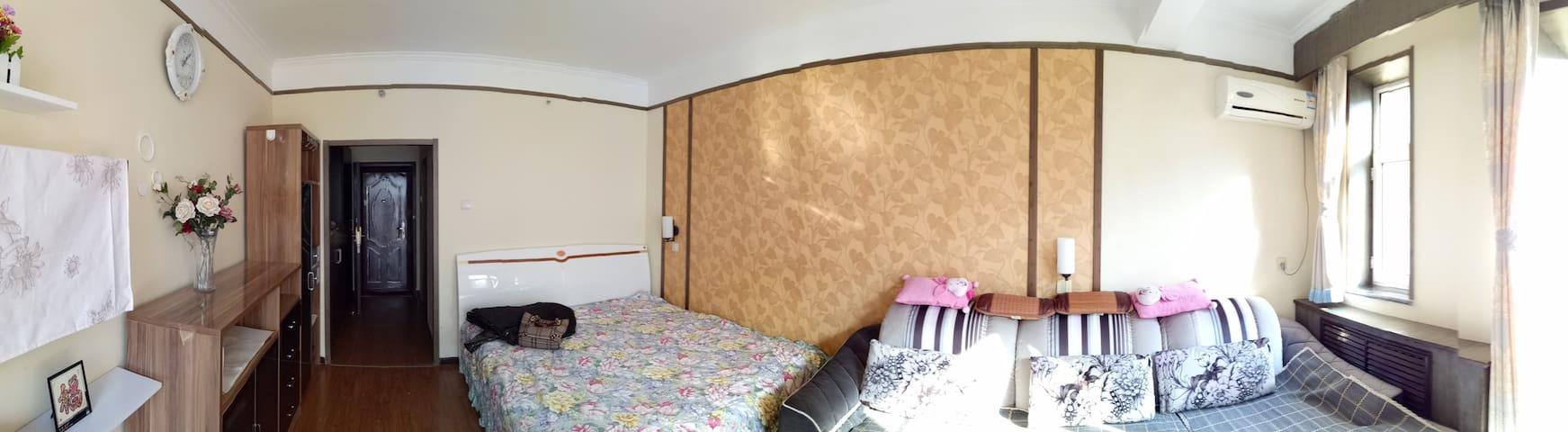 延庆深度游必住的酒店式公寓 - Beijing - Servicelägenhet