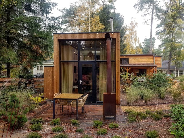 Cool, tiny designer two person house on the Veluwe