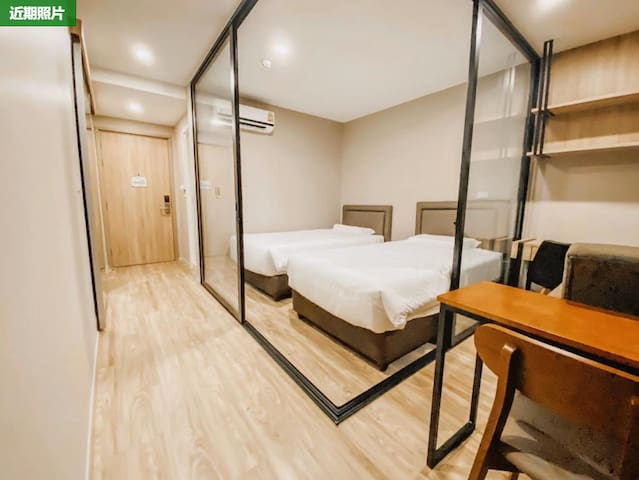 New!  Studio TwinBR room 2ppl/SurasakBTS Sathorn
