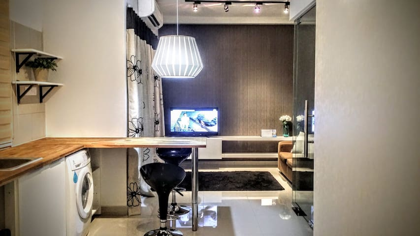 Cosy Modern Suite | wifi - Seri Kembangan - Appartement
