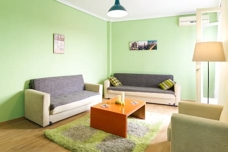 Lovely and  sunny  Downtown appartement - Thessaloniki - Wohnung