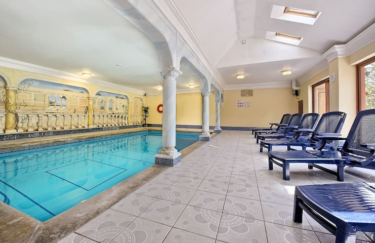 Large well located apartment with shared pool