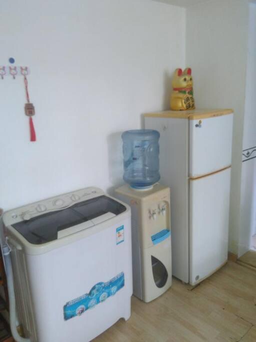 洗衣机,冰箱,饮水机