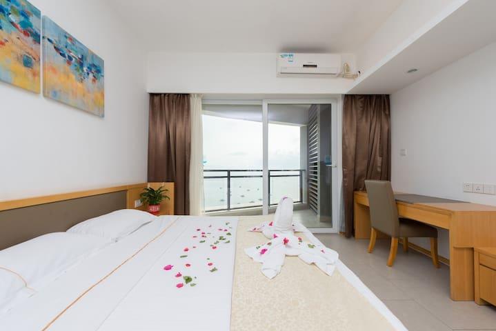 巽寮湾海公园舒适海景大床房