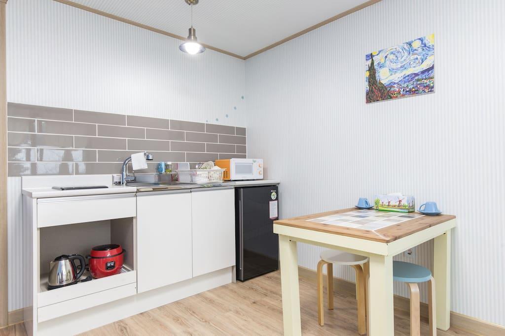 주방과 식탁