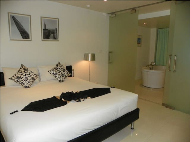 Surin-One Bed-100m to Beach-T2 - Choeng Thale - Appartamento