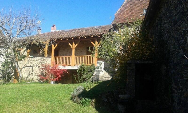 Maison traditionnelle dans le Lot Touristique