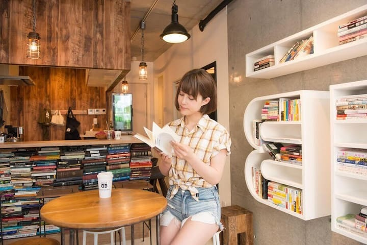 BookTeaBed Azabu-Juban WOMEN'S ONLY STYLE01