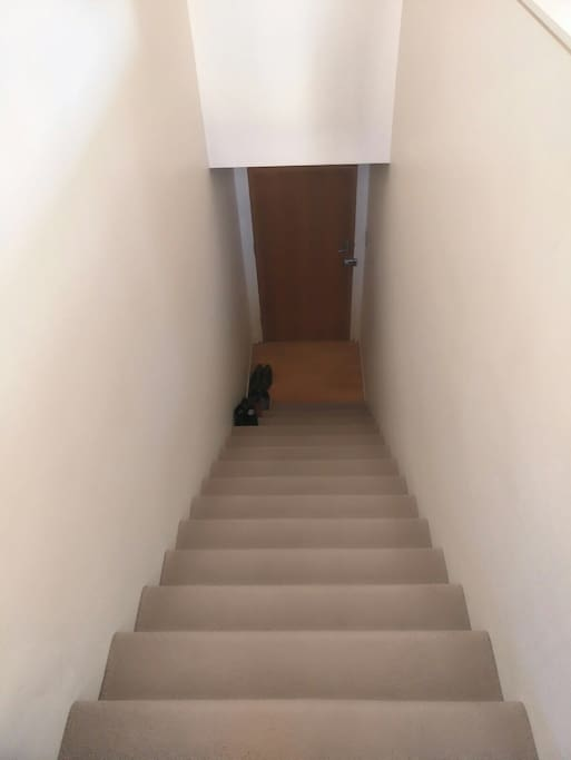 Stairway when you enter our home