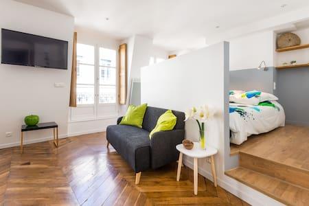 Grand studio atypique sur balcon - Lyon