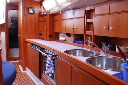 Sailboat cabin in Antibes - Villeneuve-Loubet
