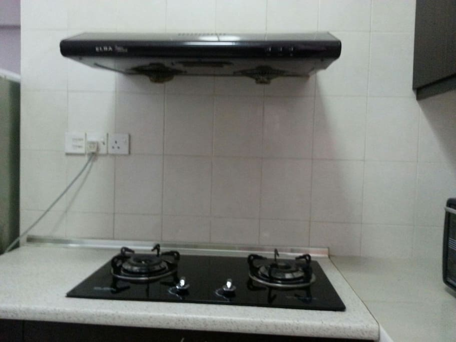 Kitchen hod n stove