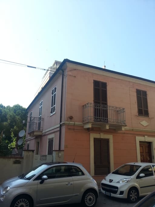 Vista dall'esterno/View from the street