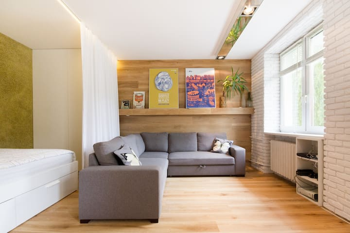 Fresh minimalistic studio - Mokotów