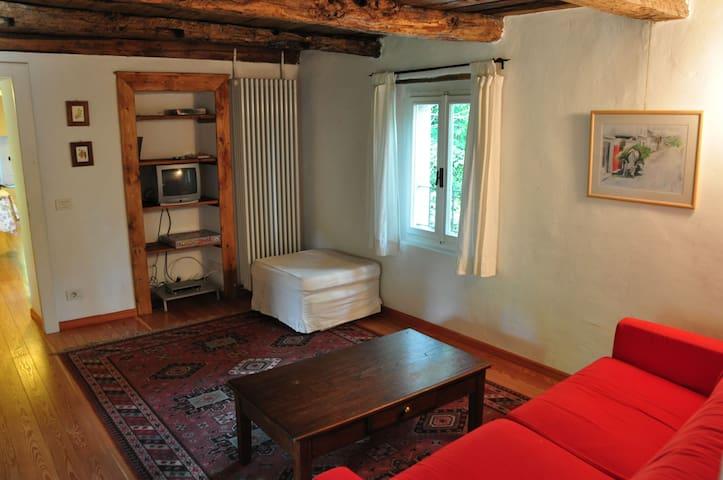 Salotto/camera da letto - primo piano - The living room / sleeping room