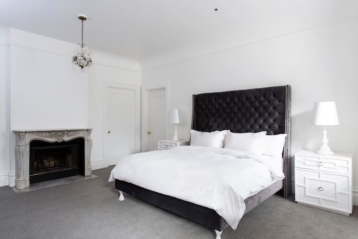 Archbishop's Mansion | Sleek Guest Room | 1 Bed