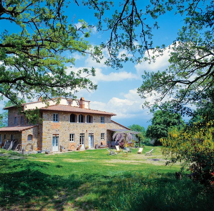 Airbnb Tuscany Villa With Pool