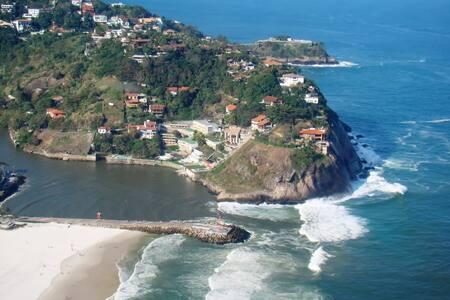 Mansão Joatinga Vista Espetacular