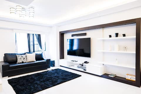 Spacious 109sqm 3BR condo in Malate with PARKING