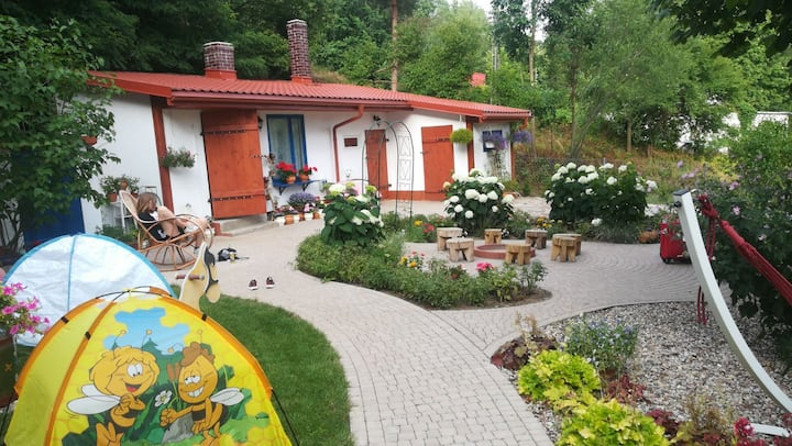 Domek na Podlasiu w Mielniku