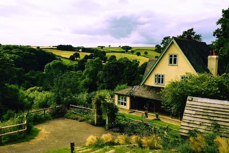 Hillside, 6 bedroom, Edwardian hunting lodge - Devon - 獨棟