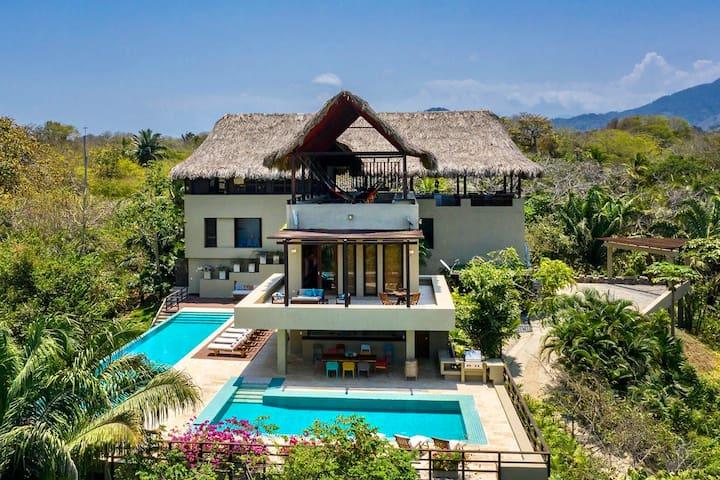 5 BR Luxury Villa at Tayrona Park w/ Beach Access